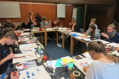 2015 Aufbaukurs II - Kreatives Gestalten